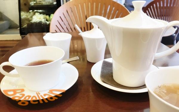 吉祥寺 カフェ プリュスの紅茶セット